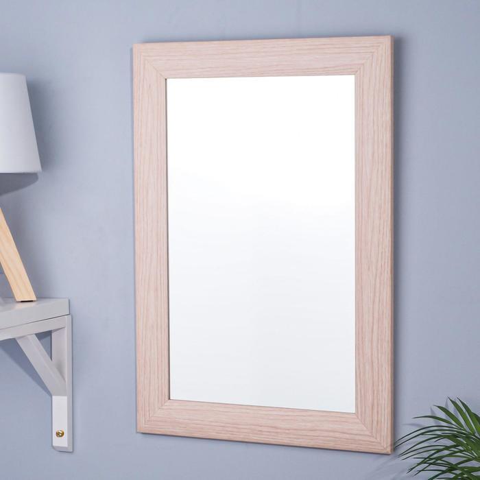 Зеркало «Дуб»,  настенное 41×61 cм, рама МДФ,  55 мм - фото 1609937