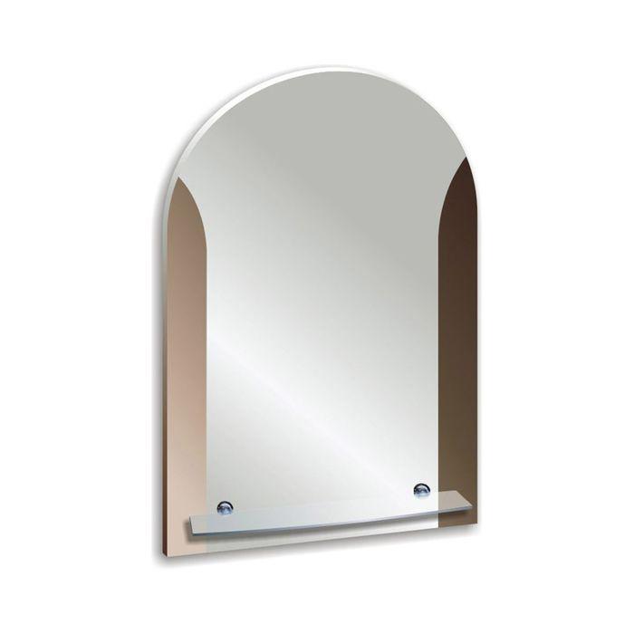 """Зеркало настенное """"Готик"""" 51,5х67 см, с полочкой"""