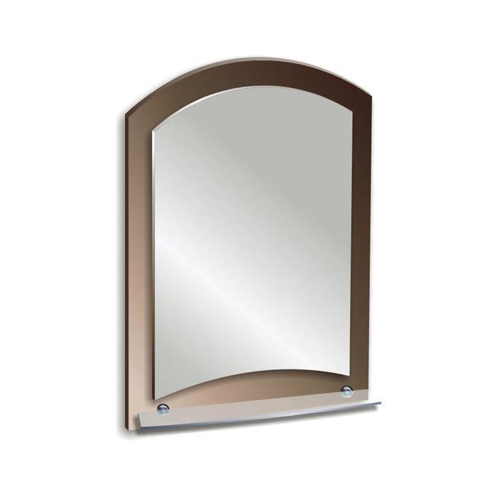 """Зеркало настенное """"Арго"""" 40*58,5 см, с полочкой"""