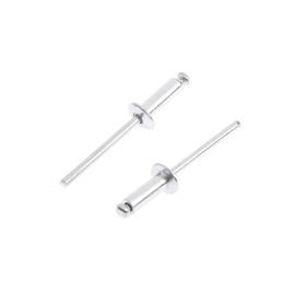 Заклёпки вытяжные TUNDRA krep, алюминий-сталь, 50 шт, 4 х 12 мм