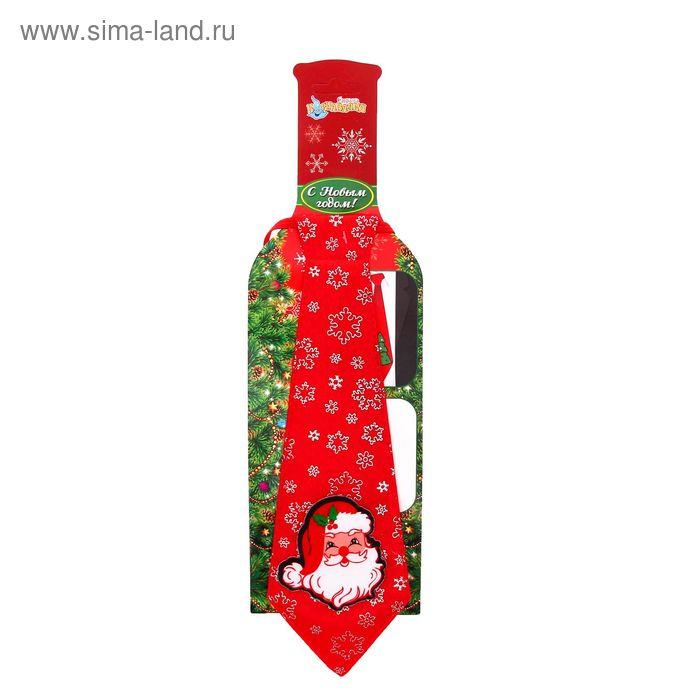 """Карнавальный галстук """"Дед Мороз"""""""