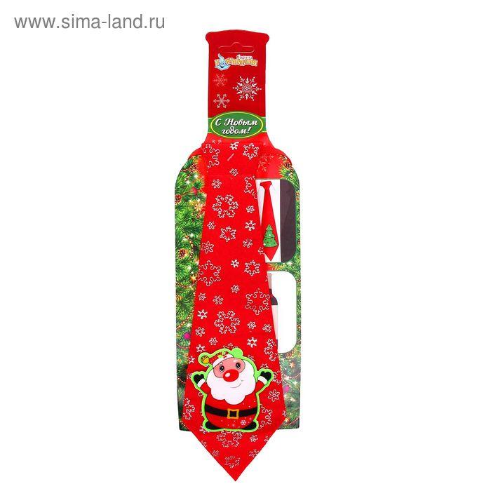"Карнавальный галстук ""Дедушка Мороз"""