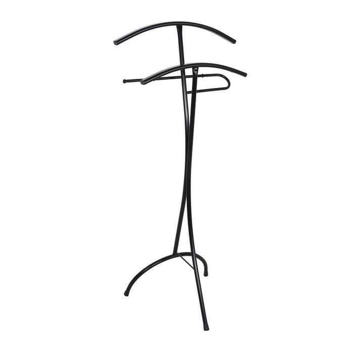 """Вешалка-стойка 47×36×106 см """"Слуга"""", цвет чёрный"""