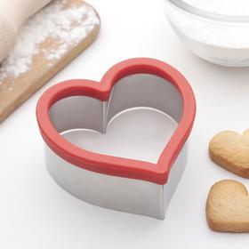 {{photo.Alt || photo.Description || 'Форма для вырезания печенья Доляна «Сердце»,10,5×10,5×4,5 см'}}