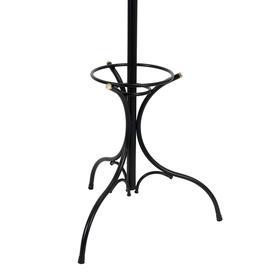 Вешалка напольная «Тюльпан», 62×62×191 см, цвет чёрный - фото 4642213