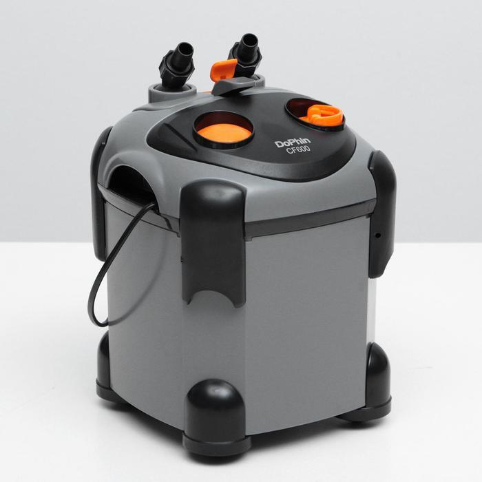 Внешний канистровый фильтр Dophin CF-600 (KW),650л/ч - фото 1727822