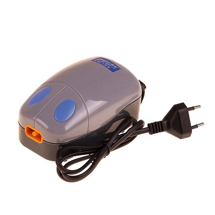 Компрессор аквариумный M-103 2,4 Вт,2,5л./мин. с регулятором