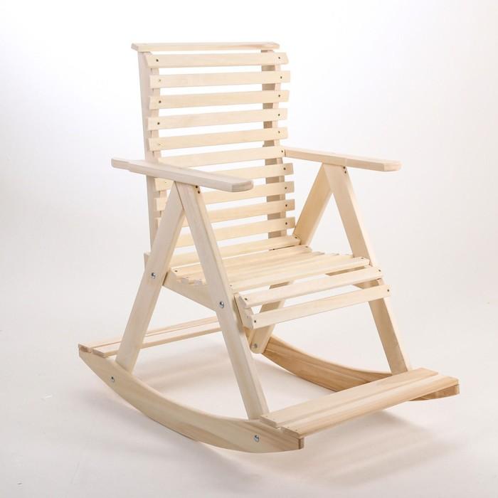 """Кресло-качалка 70х110х90см, липа """"Добропаровъ"""""""