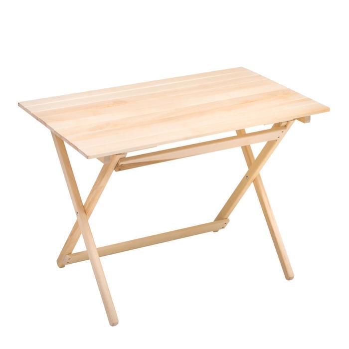 Стол раскладной прямоугольный 100*60*75см