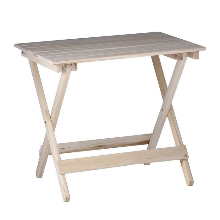 Стол складной, 80×60×75см, из липы