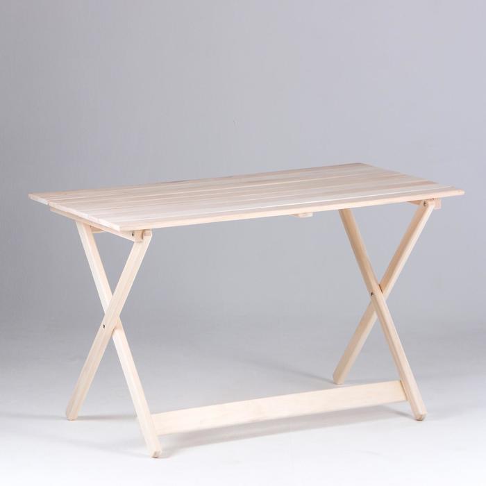 """Стол складной, 120×60×75см, из липы, """"Добропаровъ"""""""