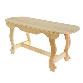 Стол с фигурными ножками 100х63х73 см