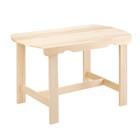 Стол без полки 120х63х73 см