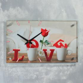 """Часы настенные, серия: Люди, """"Love"""" 36х60 см, микс"""