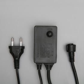 """Контроллер для гирлянды """"Занавес"""" до 8000 LED, Н.Т. 3W, 8 режимов"""