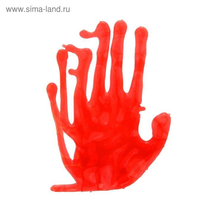 Кровавый отпечаток от руки