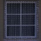 """Гирлянда """"Водопад"""" 2 х 6 м , IP44, УМС, прозрачная нить, 1500 LED, свечение белое, 8 режимов, 220 В - фото 1610332"""