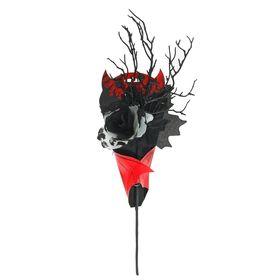 Букет «Вампир», цвет серебряный