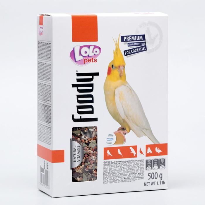 Корм для средних попугаев LoLo Pets полнорационный 500 г