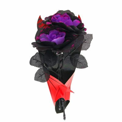 "Букет ""Вампир"", цвет фиолетовый"
