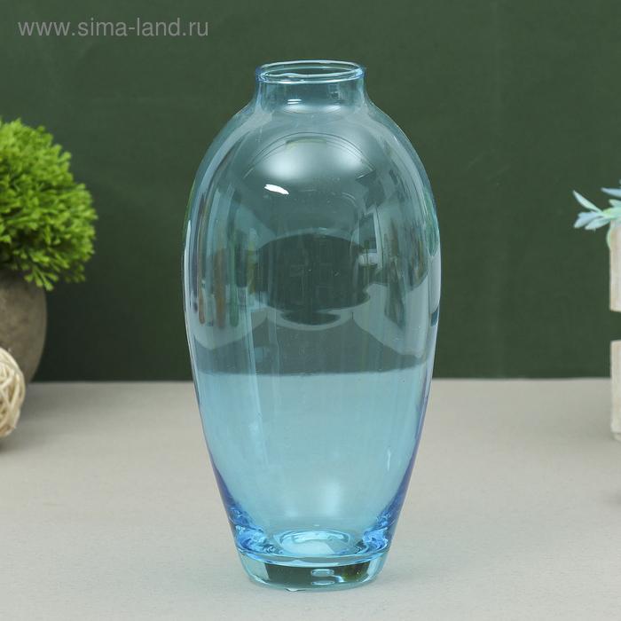 """Ваза """"Весна"""" голубая, 0,56 л"""