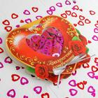 """Праздничное конфетти """"Любовь"""" цветные сердечки 14гр"""