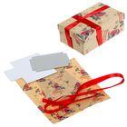 Подарочная коробка «Снегири», набор для декора, 21 × 30 см