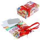 Подарочная коробка «Новый год винтаж», набор для декора, 21 × 30 см