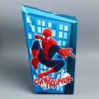 "Коробка подарочная ""Супер подарок"": Человек- Паук, 20 х 9 х 32 см"