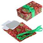 Подарочная коробка «Новогодняя ёлка», набо для декора, 21 × 30 см