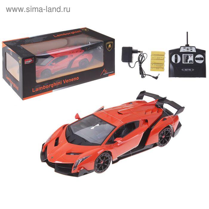 Машина на радиоуправлении Lamborghini Veneno, масштаб 1:14, МИКС