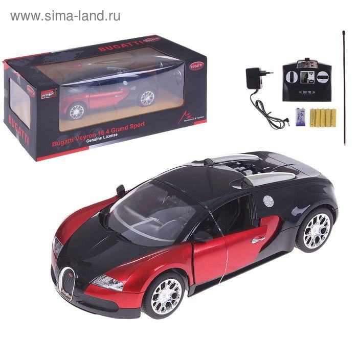 Машина на радиоуправлении Bugatti Veyron, масштаб 1:14, МИКС