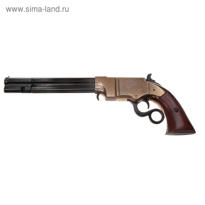Макет многозарядного пистолета Volcanic, 38 мм, США, 1855