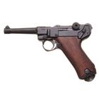 Макет самозарядного пистолета Люгера, Парабеллум, 9 мм, Германия, 1900 г