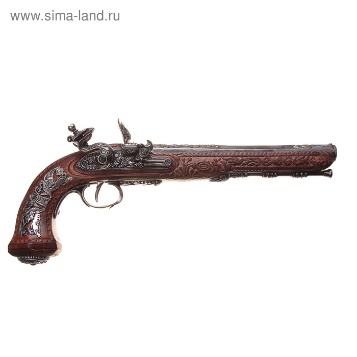 Макет дуэльного кремниевого пистолета Boutet, Версаль, Royal coll.