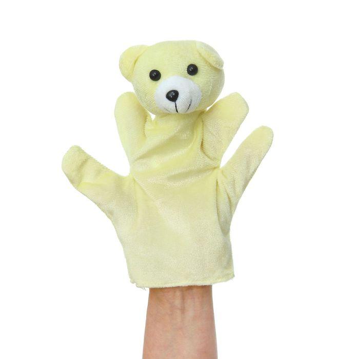 """Мягкая игрушка на руку """"Медведь"""", на 4 пальца"""