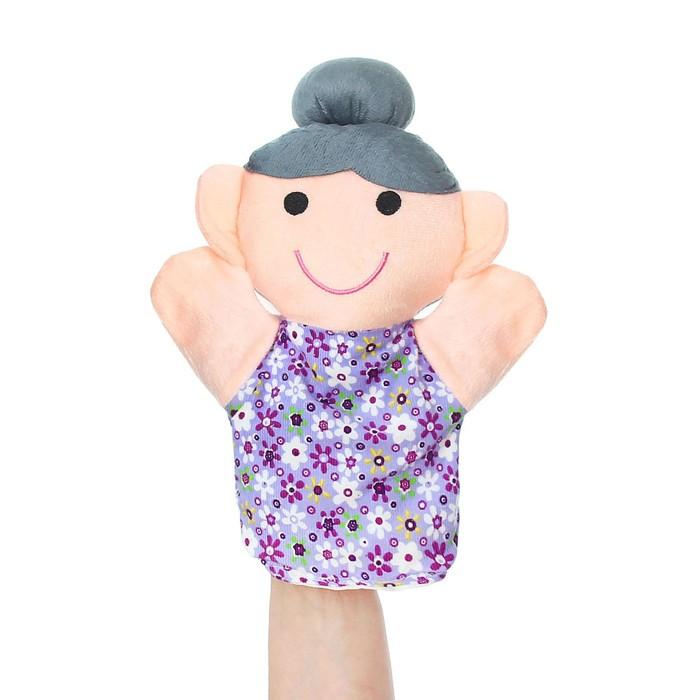 "Мягкая игрушка на руку ""Бабушка"""