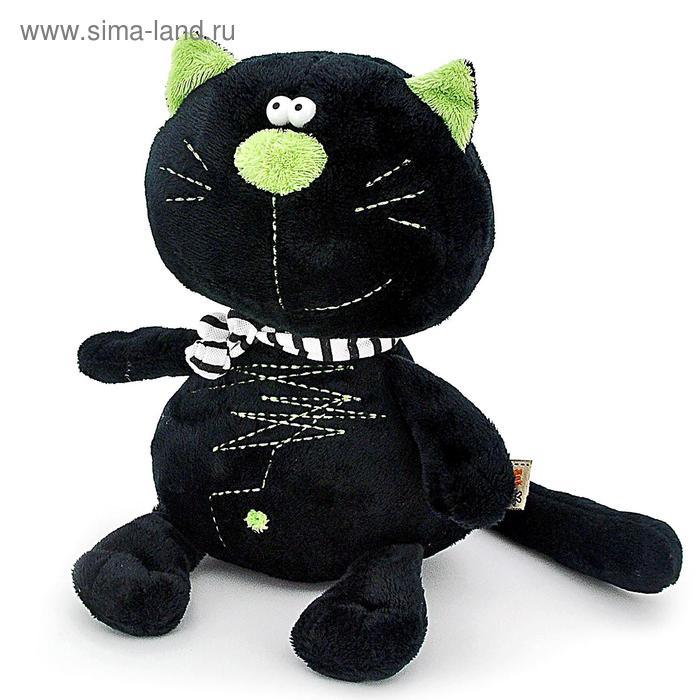 """Мягкая игрушка """"Кот Батон"""", цвет чёрный"""