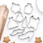 """Набор форм для вырезания печенья """"Гардероб"""", 8 шт - фото 147163644"""