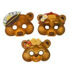 """Набор карнавальных масок """"Три медведя"""""""