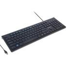 Клавиатура Smartbuy 206 Slim, USB, черная