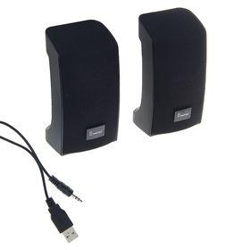 Computer speakers 2.0 SmartBuy ORCA BAND SBA-1000, 2x3W, black.
