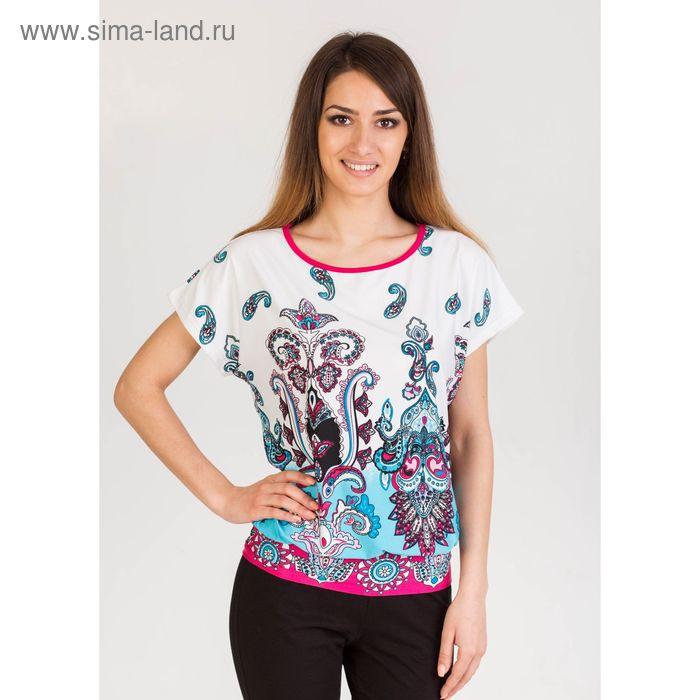 Блуза женская Олеся розовый, р-р 44