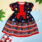 """Платье для девочки """"Красный бантик"""", рост 74-80 см (1 год)"""