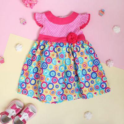 """Платье для девочки """"Утренняя зорька"""", рост 80-86 см (1,5 года)"""