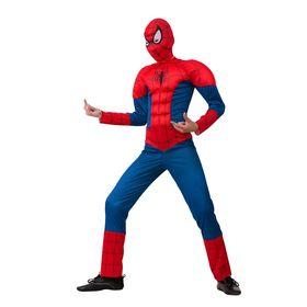 Детский карнавальный костюм «Человек-паук», размер 34, рост 128 см