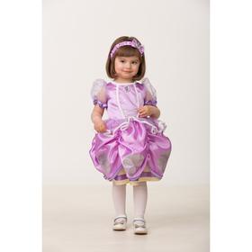 Карнавальный костюм «София Прекрасная», текстиль, (платье, повязка), размер 24, рост 86 см