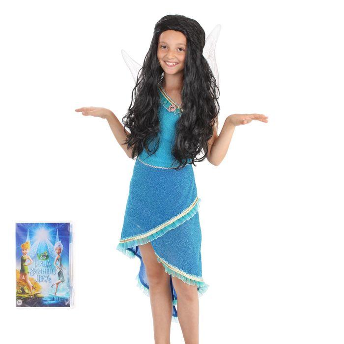Карнавальный костюм «Фея Серебрянка», размер 34