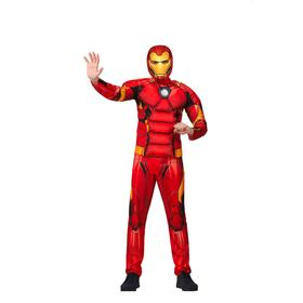 Детский карнавальный костюм «Железный человек», размер 28, рост 110 см
