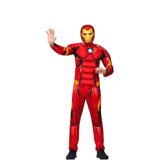 Детский карнавальный костюм «Железный человек», размер 28, рост 110 см - фото 883162